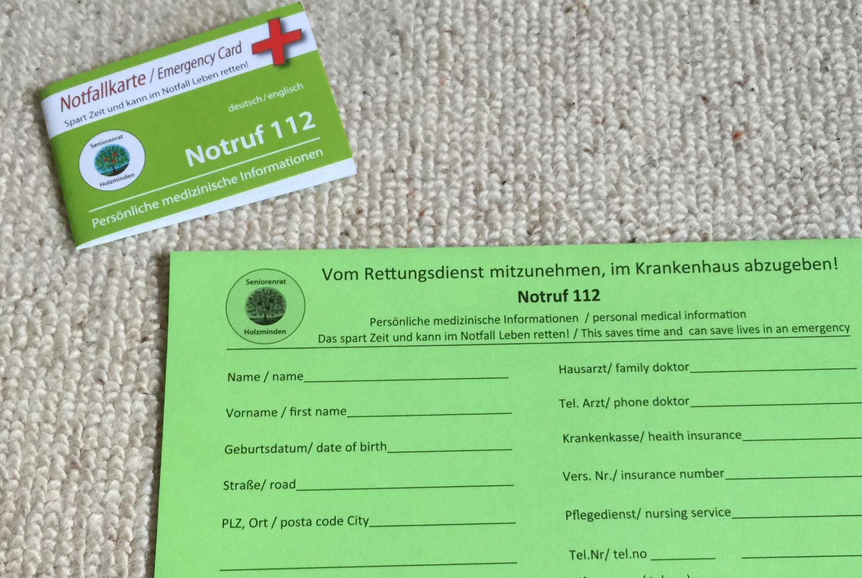 Fantastisch Medizinische Notfallkartenvorlage Galerie ...